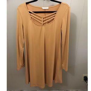 Yellow Long Sleeve Dress (Nw/oT)